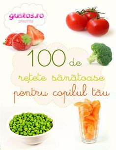 'retete' on SlideShare Baby Food Recipes, Healthy Recipes, Healthy Food, Vegetarian Cookbook, Cantaloupe, Ale, Avocado, Lunch, Vegetables