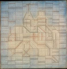 Variations (Progressive Motif) by Paul Klee, Modern and Contemporary Art Medium: Oil and watercolor on canvas The Berggruen Klee Collection, 1984 Metropolitan Museum of Art, New York,...