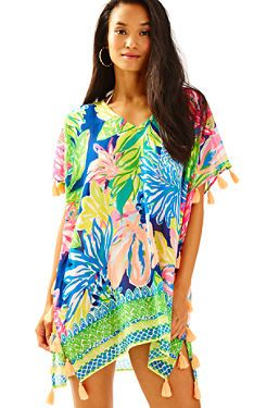 Castilla Cover-Up Tunic | 25142 | Lilly Pulitzer