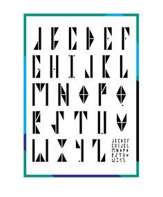 Modular font «CONDENSED MILK»