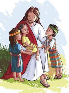 Nascimento do menino Jesus. Conto infantil