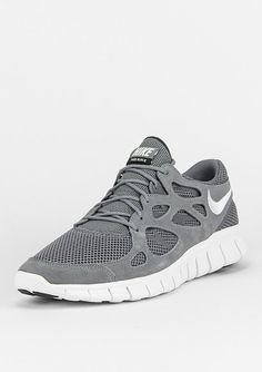 b3440c2930621b NIKE Laufschuh Free Run 2 cool grey white - Schuhe Sportschuhe Laufschuhe  und Trainer