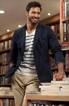 Beto Malfacini, fabulous Brazilian model, b. Beto Malfacini, Look Man, Hommes Sexy, Celebrity Outfits, Good Looking Men, Gorgeous Men, Male Models, Love Fashion, How To Look Better