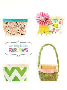 Easter Berry Baskets {stevie pattyn for shop sweet lulu}