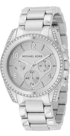 Michael Kors Watch , Michael Kors Women's MK5165 Silver Blair Watch