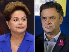 ブラジル大統領選挙の決選投票で争うルセフ大統領(左)と最大野党ブラジル社会民主党(PSDB)のネベス党首(AFP=時事) ▼9Oct2014時事通信|決選投票、野党共闘決定か=政権交代に追い風-ブラジル大統領選 http://www.jiji.com/jc/zc?k=201410/2014100900140