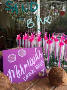 Mermaid Party | Paper Signs Package