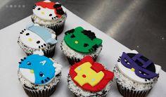 avenger-hello-kitty-cupcakes