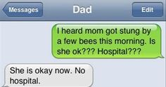 The Web Babbler: Funny Texts #86