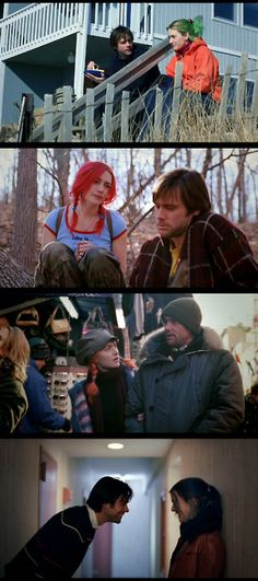 Eternal sunshine of the spotless mind. Such an amazing movie, and such great hair!