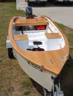 Darkwater Skiff Wooden Boat Plans #woddenboat