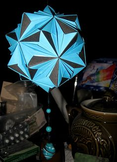 doll-origami balls kusudama.   make handmade, crochet, craft