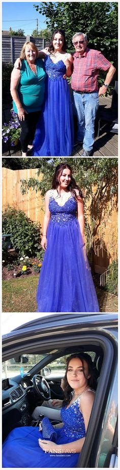 Royal Blue Prom Dresses Long Formal Evening Dresses Princess, Elegant Military Ball Dresses V-neck, Tulle Pageant Graduation Party Dresses with Beading Senior Prom Dresses, Sparkly Prom Dresses, Princess Prom Dresses, Prom Dresses For Teens, Party Dresses, Pageant Dresses, Cheap Prom Dresses Online, Cheap Formal Dresses, Gowns Online