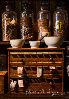 Gallery Wrap Canvas - Old Pharmacy Apothecary Medicines  - Choose image and size