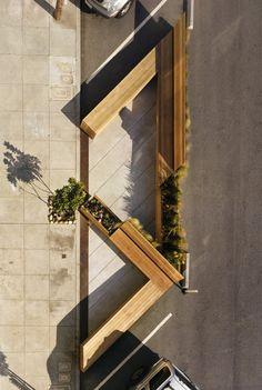Парковка для пешеходов : Фотографии красивых вещей — мебель, интерьеры, архитектура