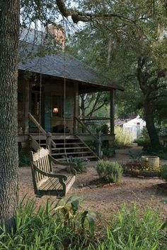 Cajun cottage swing