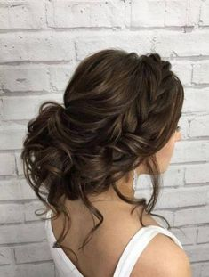 Hairstyle Inspiration - Elstile Featured Hairstyle: Elstile Wedding Hairstyles and Makeup;Featured Hairstyle: Elstile Wedding Hairstyles and Makeup; Wedding Hairstyles Half Up Half Down, Wedding Hairstyles With Veil, Bride Hairstyles, Cute Hairstyles, Bridal Hair With Veil Updo, Brunette Wedding Hairstyles, Hairstyles 2018, Hairstyle Ideas, Hairstyles Pictures