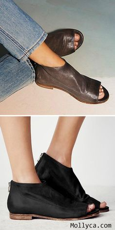 Buy 2 Got 5% OFF Code: mollyca   Women Peep Toe Sandals Casual Comfort Zipper Shoes
