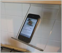 The Original Kitchen IPhone / SmartPhone Rack / Stand / Holder Kitchen  Acrylics,http: