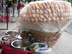 Managing health in India while in travel: Eat freshly cooked or food you can peel.