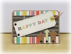 Happy Day Masculine Birthday Card by Paper Melody's
