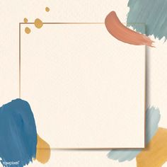 Colorful square frame on an abstract design element background vector | premium image by rawpixel.com / Adj