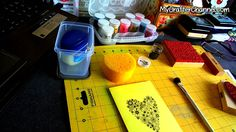 MCC #013 - Tinta de embossing casera