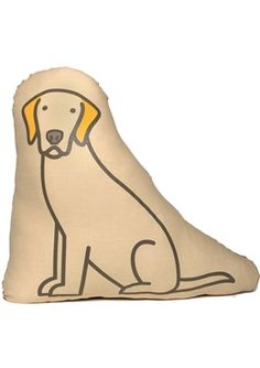 labrador retriever - Oliver Pillow
