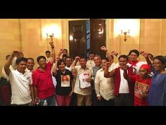 President Duterte Welcome Militant Groups set foot in Malacañang For the...