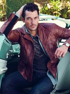 David Gandy is a Casual Vision for Lucky Brand Winter 2012 Campaign