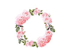 22 best watercolor flower clip art images on pinterest in 2018 pink rose watercolor clip art wreath flower crown bohemian roses illustration mightylinksfo
