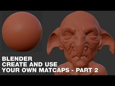 Blender - Create and use your own Matcaps Part 2 - English - YouTube