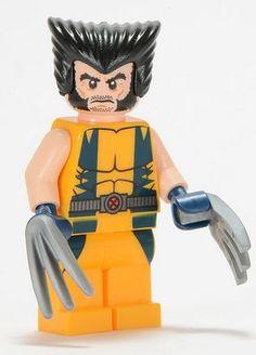 Wolverine LEGO Super Heroes Minifigure