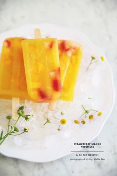 Strawberry Mango Popsicles3 by Le Zoe Musings