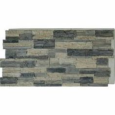 Ekena Millwork Canyon Ridge Stacked Faux Stone Polyurethane Wall Paneling & Reviews | Wayfair