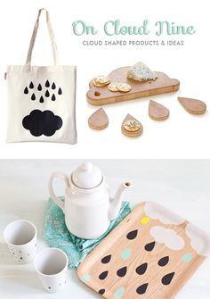 On Cloud Nine: Adorable cloud shaped products & ideas