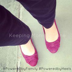 More comfortable pumps ever! Rockport Total Motion Bow Pump. #spon #PoweredbyHeels #PoweredbyFamily