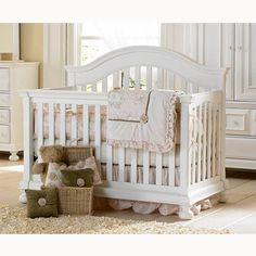 Perfect for the nursery. I think this is the one! Love the Lollipops and Roses crib bedding!
