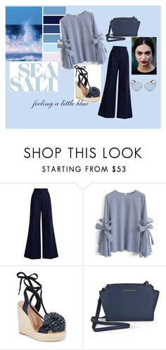 """blue ocean"" by lejlaa-limic ❤ liked on Polyvore featuring MSGM, Chicwish, Kate Spade, Michael Kors, Christian Dior and Trendy"