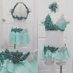 A beautifully sweet mint and emerald lyrical for Emma of Renner Dance!! …