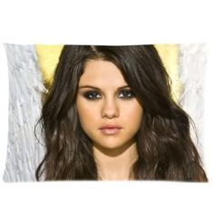 Amazon.com: Selena Gomez Pillowcase Covers Standar ($15.18)