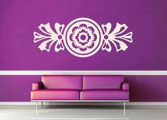 Art Deco Flower - Wall Decal