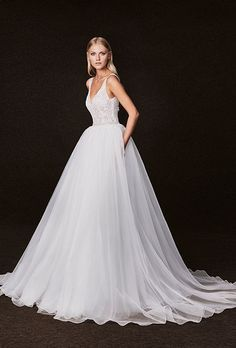 Wedding dress by Victoria Kyriakides