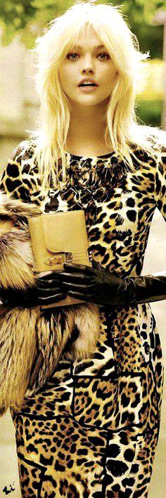 Dress by Yves Saint Laurent