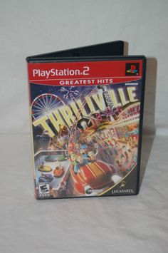 PS2 Thrillville Sony PlayStation 2 2006 Perfect Amusement Park
