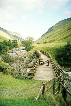 River Tilt Bridge, Blair Atholl, Scotland