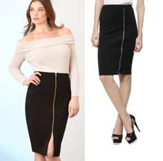 9eb588a27b 4 Secret Tips That You Never Know To Style Pencil skirts Plus Size Pencil  Skirt