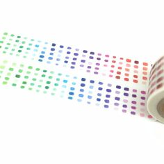 Color Washi Tape Beautiful Washi Tape Gradient by PokemonGarden