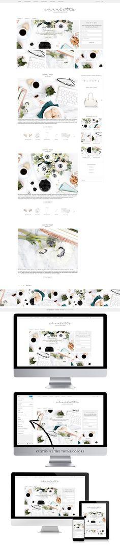 Charlotte - WordPress Theme. WordPress Blog Themes. $25.00