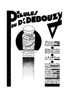 Pilules du Dr. Debouzy. Efficaces et toujours tolérées.